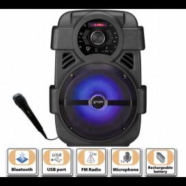 Karaoke sistem Xplore XP8807 SHOORE FM/microSD/USB/BT/MIC/150W